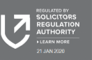 Regulated by Solicitors Regulation Authority