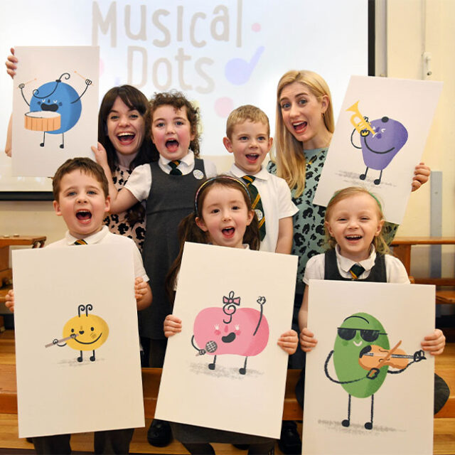 Musical Dots engage Primary Teesside children over healthy eating