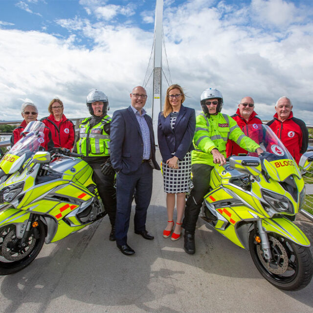 Square One Law Helps to Support Bloodrun Emergency Voluntary Service