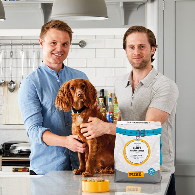 Healthy air-dried dog food company Pure Pet Food secures multi-million-pound investment to change dog's lives for the better